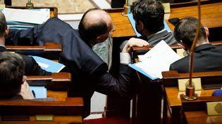 Séances de questions au gouvernement à l'Assemblée nationale, le 23 mars 2021. (THOMAS PADILLA / MAXPPP)