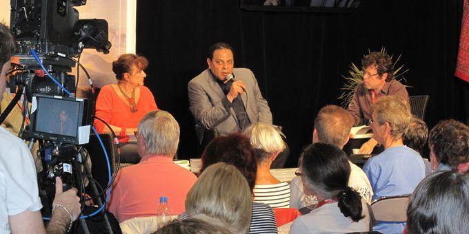 L'écrivain égyptien, Alaa El Aswany  (S.Jouve)