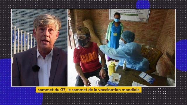 Sommet du G7 : la vaccination contre le Covid-19 au cœur des discussions