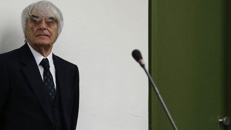 Le patron de la F1, Bernie Ecclestone