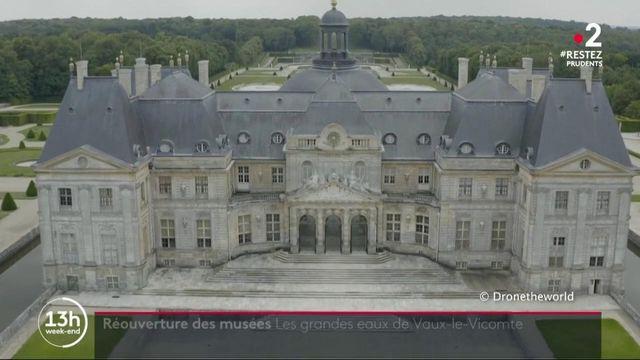 Seine-et-Marne : le château de Vaux-le-Vicomte rouvre ses portes avec sa fontaine restaurée