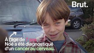 VIDEO. Le combat de Frédéric et Magali après la mort de leur fils atteint d'un cancer (BRUT)