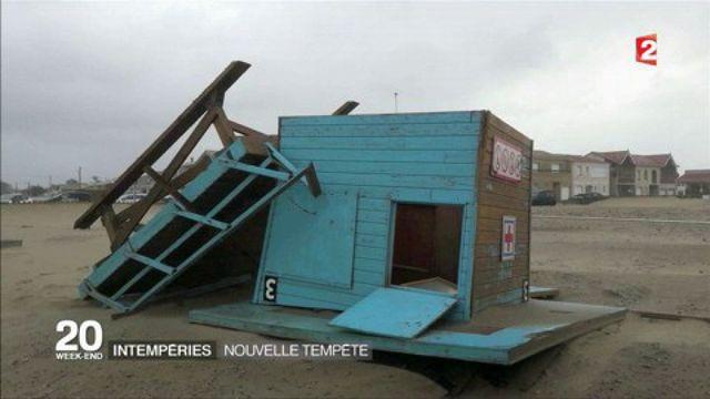 Tempêtes hivernales : après Leiv, Marcel balaie le Sud-Ouest et des rafales jusqu'à 141 km/h