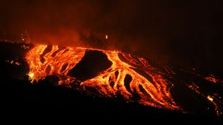 Le volcan Cumbre Vieja de l'île espagnole de La Palma, dans l'archipel des Canaries,est entré en éruption dimanche 19septembre, pour la première fois depuis cinquante ans. (ACFIPRESS / NURPHOTO)