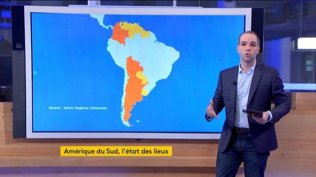 Coronavirus : l'Amérique du Sud est moins touchée, mais pas épargnée