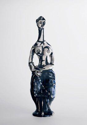 Pablo Picasso, Femme aux mains jointes (1947-1948), collection particulière  (Succession Picasso 2013 - Crédit photo : Maurice Aeschimann)