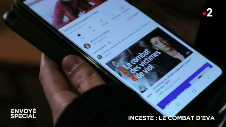 #MetooInceste : violée par son grand-père durant des années, elle témoigne sur sa chaîne YouTube (ENVOYÉ SPÉCIAL  / FRANCE 2)