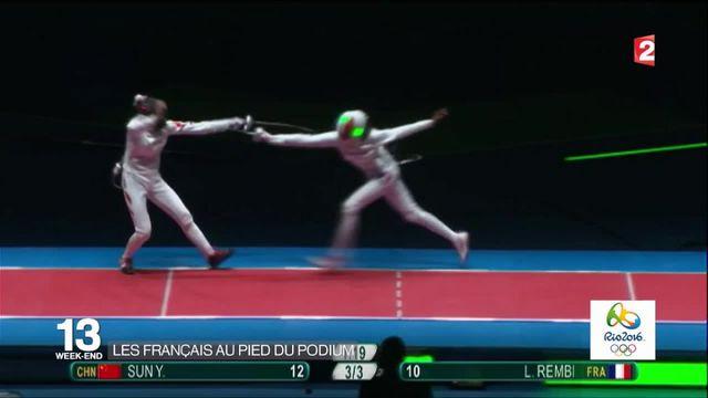 Jeux Olympiques : un premier jour sans médaille pour les Français