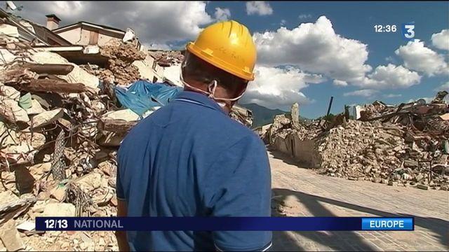 Italie : un an après le tremblement de terre, Amatrice toujours en ruines
