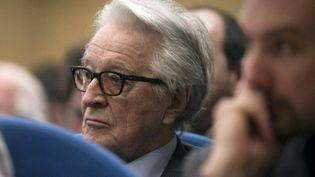 Roland Dumas, le 6 may 2011, au Sénat. (JOEL SAGET - AFP)