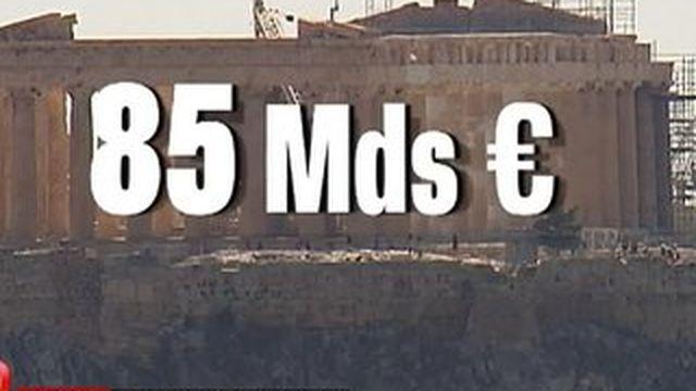 85 milliards d'euros pour la Grèce