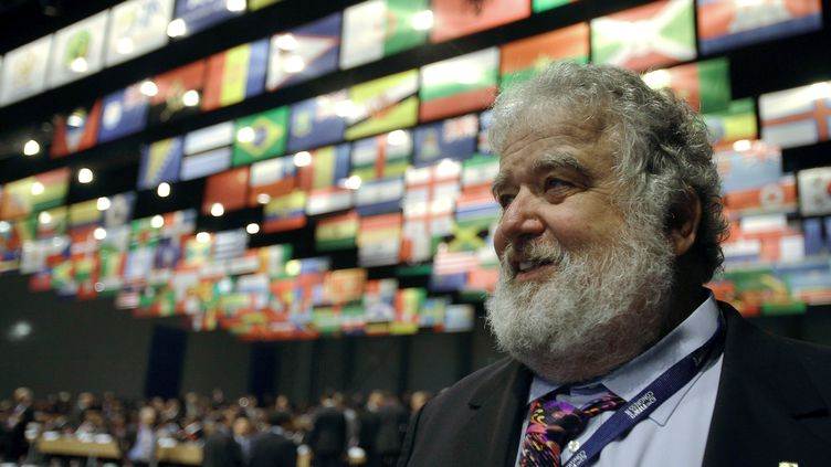 L'Américain Chuck Blazer, ancien membre du comité exécutif de la FIFA de 1998 à 2013 (PETER KOHALMI / AFP)
