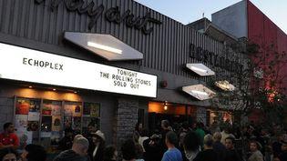 Concert des Rolling Stones à l'Echoplex dans le quartier branché d'Echo Park à Los Angeles, le 27 avril 2013  (KEVIN MAZUR / GETTY IMAGES NORTH AMERICA / AFP)