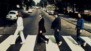 Détail de la photo de Iain Macmillan prise en 1969 à Abbey Road  (Bloomsbury Auctions)