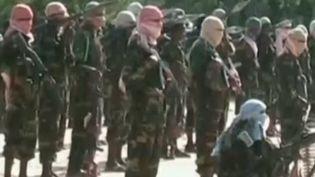 Les shebabs somaliens, auteurs de l'attaque terroriste dans un centre commercial de Nairobi (Kenya) le 21 septembre 2013. ( FRANCE 2 / FRANCETV INFO)