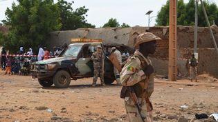 A Gao (Mali), le 13 novembre 2018, après un attentat suicide qui a fait trois morts. (AFP)