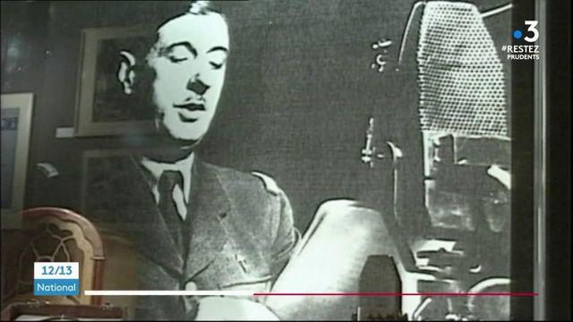 Nouvel anniversaire pour l'appel du général de Gaulle