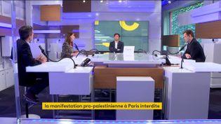 Le plateau des informés du 14 mai 2021. (FRANCEINFO / RADIO FRANCE)