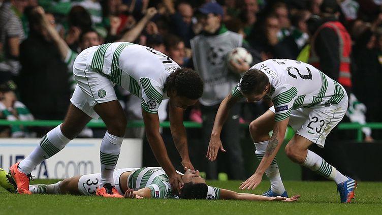 Le Celtic Glasgow a conservé son titre de champion d'Ecosse (IAN MACNICOL / AFP)