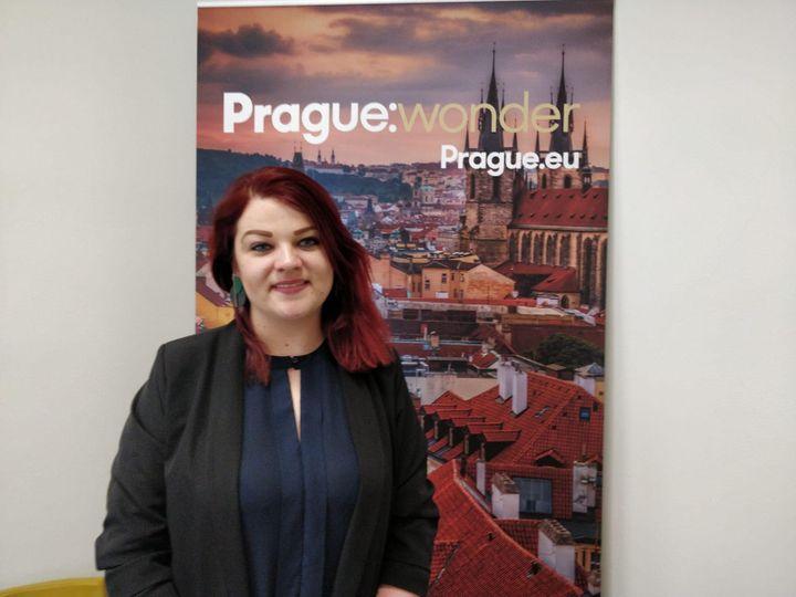 Barbora Hruba de Prague City tourism. (ERIC AUDRA / RADIO FRANCE)