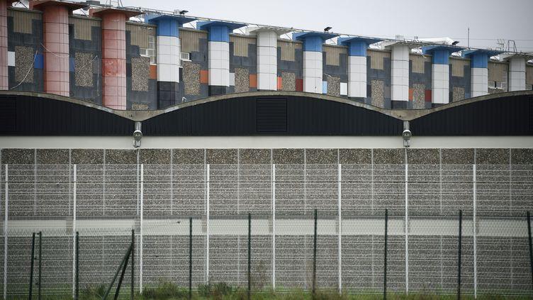 Vue générale de la prison de Fleury-Mérogis (Essonne), le 29 octobre 2015. (ERIC FEFERBERG / AFP)