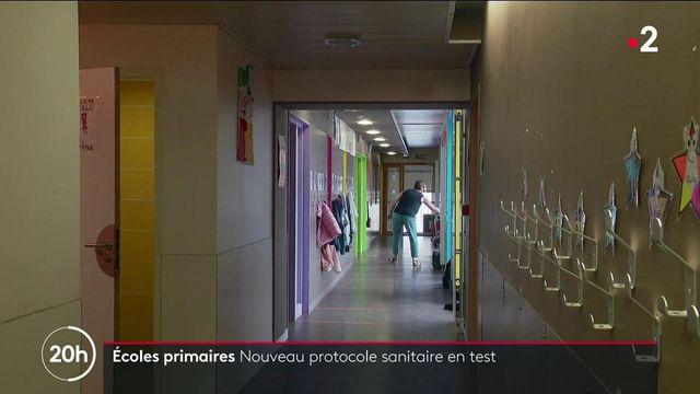 Covid-19 : expérimentation d'un nouveau protocole sanitaire dans les écoles