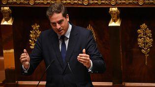 Olivier Becht, à l'Assemblée nationale, le 15 juillet 2020. (MARTIN BUREAU / AFP)