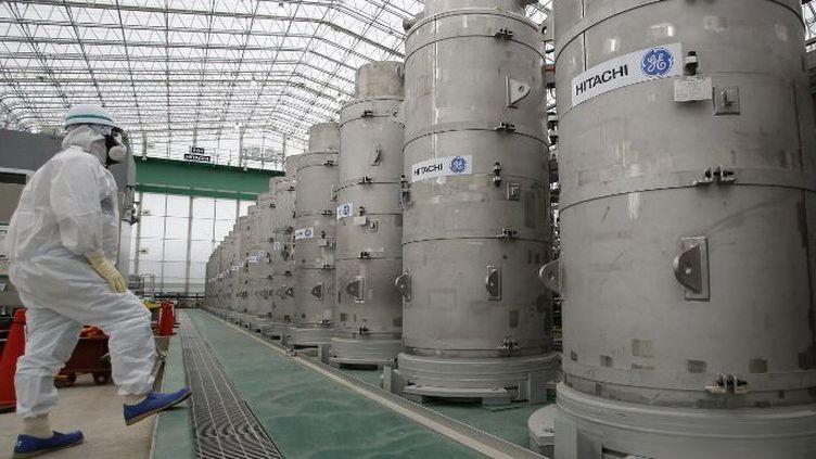 Fukushima : un premier cas de cancer reconnu d'un ouvrier. (AFP )