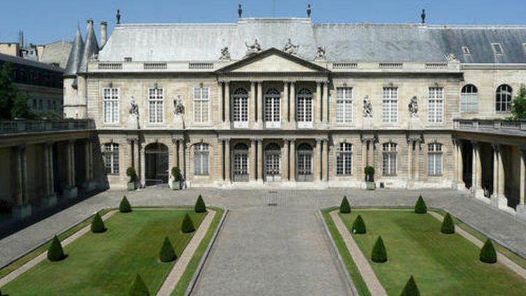 L'hôtel de Soubise abritant les Archives nationales à Paris  (Archives nationales )