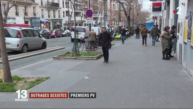 Harcèlement de rue : 332 contraventions en six mois