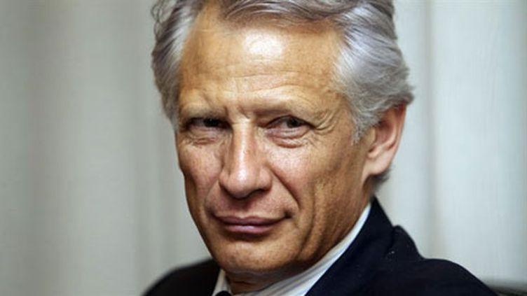 Dominique de Villepin, président de République solidaire (AFP / Patrice Coppée)
