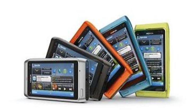 Le dernier smartphone de Nokia, le N8. (DR)