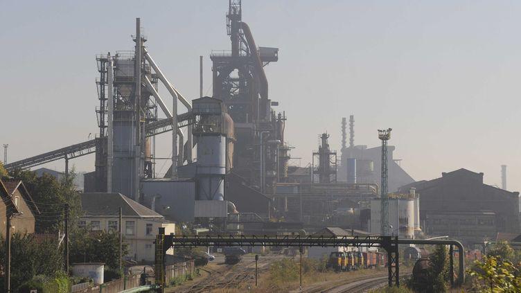 L'usine ArcelorMittal de Florange, en Moselle. (POL EMILE/SIPA)