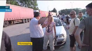 Des Serbes refoulés à la frontière avec la Grèce (FRANCEINFO)