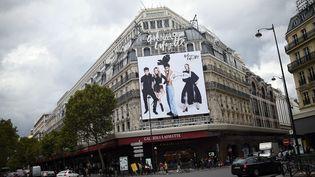 Les Galeries Lafayette, boulevard Haussmann, à Paris (STEPHANE DE SAKUTIN / AFP)