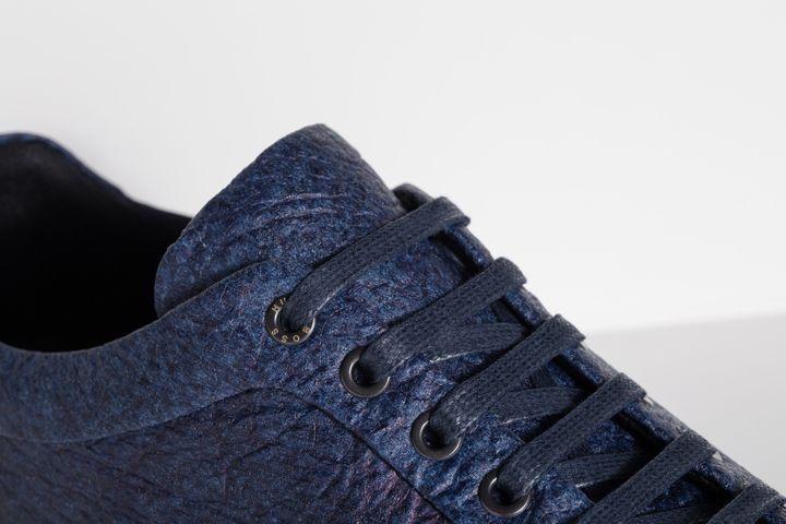 Hugo Boss, sneakers en fibres d'ananas  (DR)