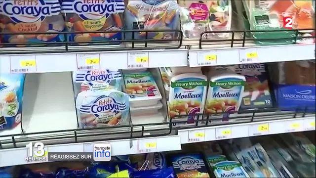 Consommation : le surimi, un produit à base de tout sauf de poisson