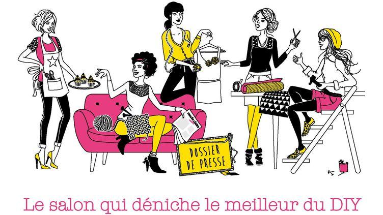(Le salon des créations et du savoir faire est ouvert porte de Versailles.  © Salon des créations et du savoir faire)