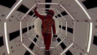 """Une image extraite de la bande-annonce 2014 de """"2001, l'odyssée de l'espace"""", de Stanley Kubrick (1968)  (Capture image / British Film Institute)"""