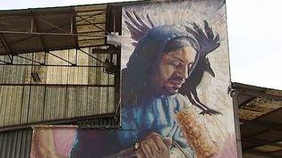 Sur dix hectares, un hommage au Street Art.  (France 3 / Culturebox - capture d'écran)