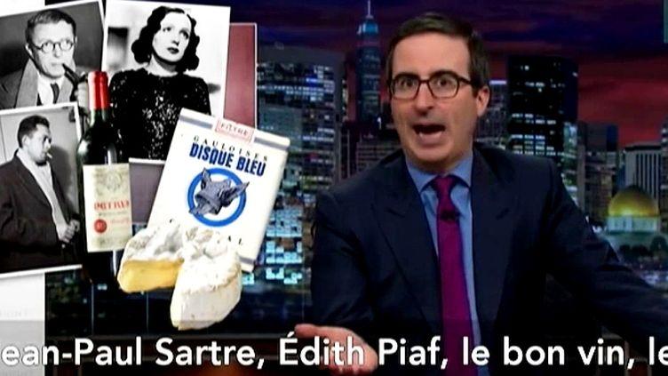John Oliver message lance un message aux djihadistes  (France2/culturebox)