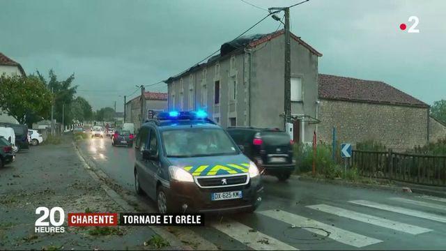Charente : de violents orages et d'importants dégâts