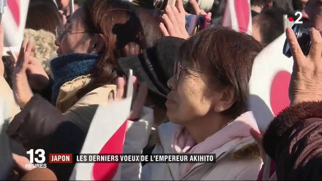 Japon : les derniers voeux de l'empereur Akihito