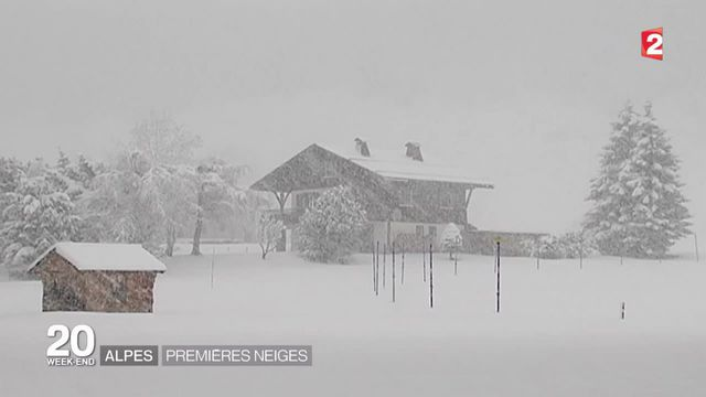 Le froid fait son retour dans les Alpes