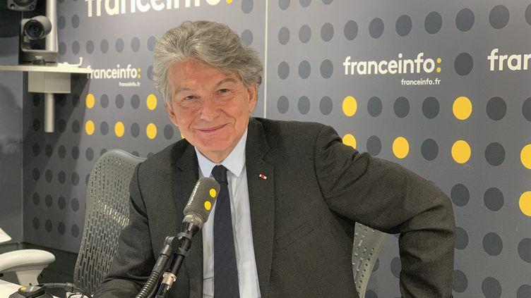 Thierry Breton,commissaire européen au marché intérieur. (JC/RF)