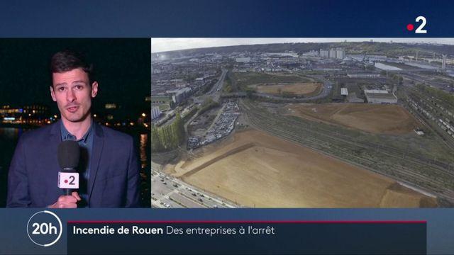 Incendie de Rouen : plusieurs usines sont encore à l'arrêt