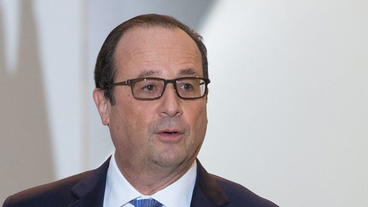 (François Hollande a réagi ce mardi à la mort ce week-end d'un jeune écologiste © MAXPPP)