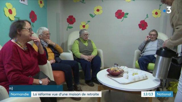 Normandie : La réforme des retraites vue d'une maison de retraite