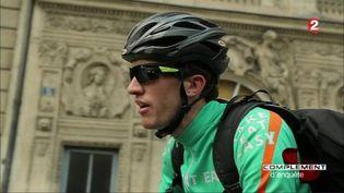 Le témoignage de Vincent, ex-coursier chez Take Eat Easy. (FRANCE 2 / FRANCETV INFO)