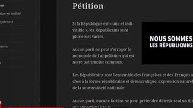 """""""Les Républicains"""", un nom que la gauche veut défendre"""